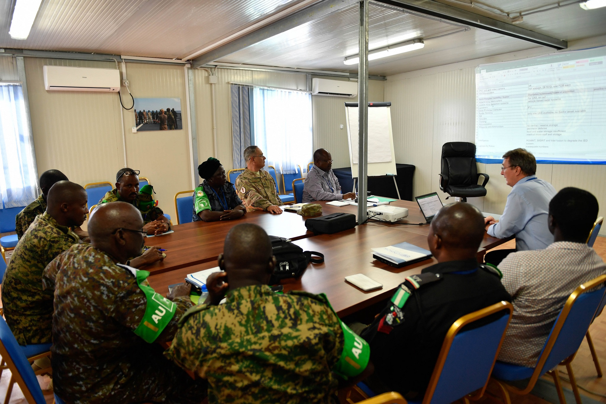 UNSOS Somalia Force Multiplier and Technology Workshop | UNSOS